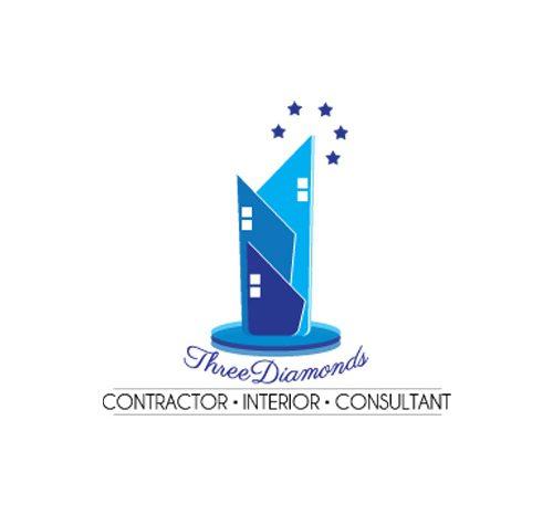 Logo Three diamonds interior