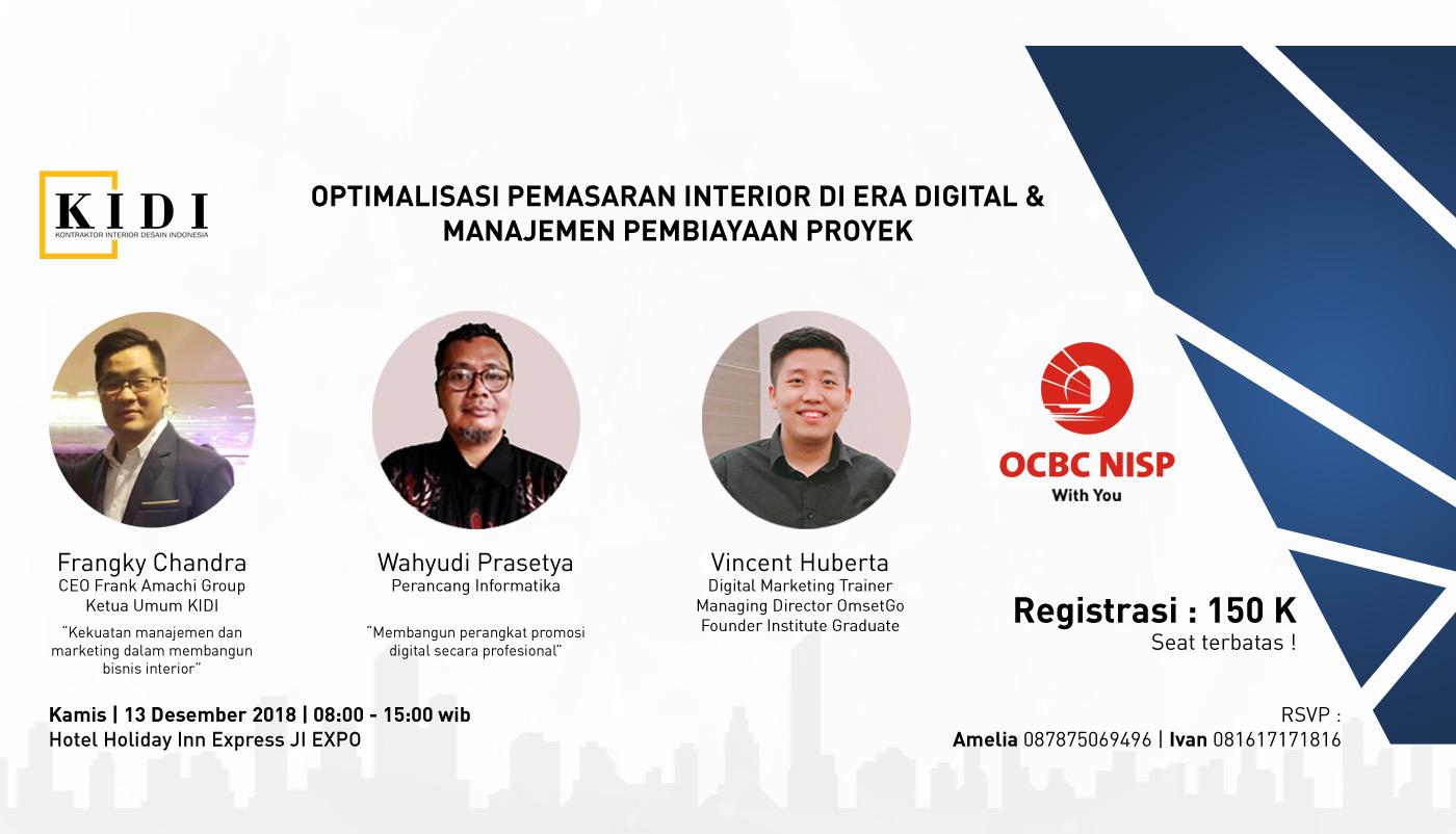 Seminar Digital Marketing dan solusi keuangan