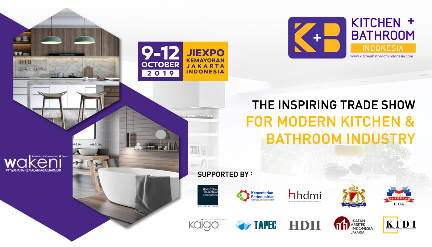 Kitchen Bathroom Indonesia 2019 - KIDI ID