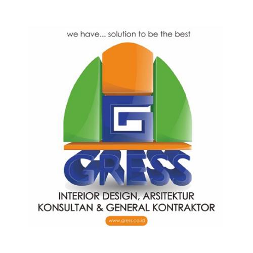 Logo Gress Desain Interior